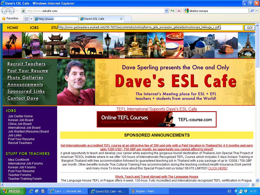 international job board daves esl cafe daves esl cafe korean job board