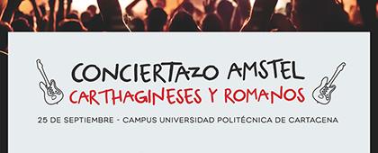 CONCIERTAZO AMSTEL CARTHAGINESES Y ROMANOS - 25 de septiembre