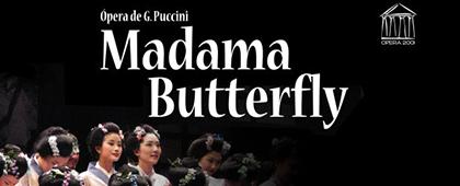 OPERA 2001 presenta: MADAMA BUTTERFLY   Auditorio El Batel - 11 de noviembre