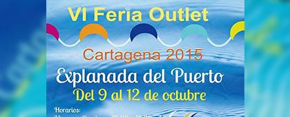 VI FERIA OUTLET - Del 9 al 12 de octubre. Explanada del Puerto