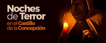 NOCHES DE TERROR en el CASTILLO DE LA CONCEPCIÓN. Cartagena Puerto de Culturas