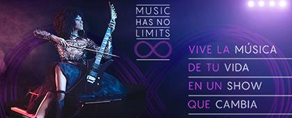 MUSIC HAS NO LIMITS - Auditorio El Batel. 8 de octubre de 2017
