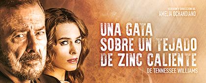UNA GATA SOBRE EL TEJADO DE ZINC CALIENTE. Nuevo Teatro Circo. 23 de noviembre
