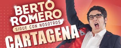 BERTO ROMERO presenta SIGUE CON NOSOTROS | Auditorio El Batel - 21 de febrero